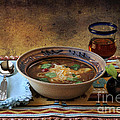 New Mexico Style Green Chile Stew Print by Karen Slagle