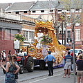 New Orleans - Mardi Gras Parades - 121259 Print by DC Photographer