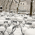 New York after snow Print by Louis Scotti