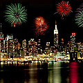 New York City Fourth of July Poster by Anthony Sacco