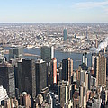 New York City - View From Empire State Building - 121218 by DC Photographer