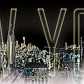 NEW YORK Digital-Art No.2 Print by Melanie Viola
