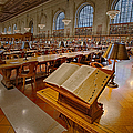 New York Public Library Rose Main Reading Room  Poster by Susan Candelario