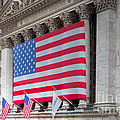 New York Stock Exchange III Poster by Clarence Holmes