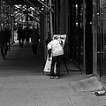 New York Street Photography 26 Print by Frank Romeo