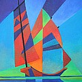 Nightboat Poster by Tracey Harrington-Simpson