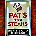 No Misteaks Print by Benjamin Yeager