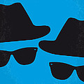 No012 My blues brother minimal movie poster Poster by Chungkong Art