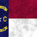 North Carolina Flag Poster by World Art Prints And Designs