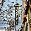 Northern Hotel Print by Baywest Imaging