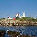 Nubble in the Day 20x30 Poster by Geoffrey Bolte
