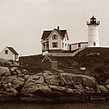 NUBBLE LIGHT Poster by Skip Willits