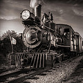 Number 4 Narrow Gauge Railroad Print by Bob Orsillo