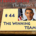Number 44 - The Winning Team Poster by Terry Wallace