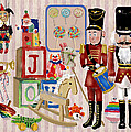 Nutcracker And Friends Print by Arline Wagner