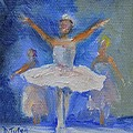 Nutcracker Ballet Poster by Donna Tuten