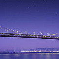 Oakland Bay Bridge Print by Aged Pixel