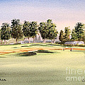 Oakmont Golf Course 14TH Poster by Bill Holkham