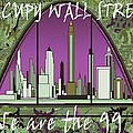 Occupy Wall Street - We are the 99 percent Poster Print by Peter Art Gallery  - Paintings Photos Prints Posters