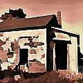 Old Abandoned House in Cape Breton Poster by John Malone