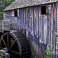 Old Cades Cove Mill Print by Paul W Faust -  Impressions of Light