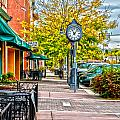 Old Clock Print by Baywest Imaging