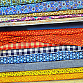 Old Country Store Fabrics Poster by Christine Till