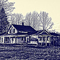 Old Farm House Print by Jim Lepard