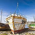 Old Fishing Boats Camaret-Sur-Mer Brittany France Poster by Colin and Linda McKie