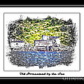 Old Homestead by the Sea Print by Barbara Griffin