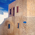 Old house in Oia  Print by Aiolos Greek Collections