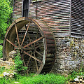 Old Mill Outside Gatlinburg Print by Mountain Dreams