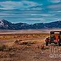 Old Pickup Print by Robert Bales