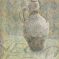 Old Pitcher Abstract Poster by Garry Gay