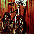 Old School BMX - Jag Print by Jamian Stayt
