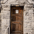 Old Stone Church Door Poster by Edward Fielding