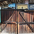 Old Storage Shed At the Swiss Hotel Sonoma California 5D24457 Print by Wingsdomain Art and Photography