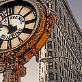 Old Time - NYC Print by Linda  Parker