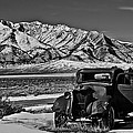 Old Truck Print by Robert Bales