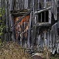 Old Weathered and Abandoned Print by Thomas Schoeller
