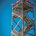 Old Wooden Watchtower Key West - HDR Style Print by Ian Monk