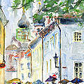 Oldtown Tallinn Estonian by John D Benson