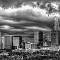 Ominous Charlotte Sky Print by Chris Austin