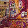 One Glass Too Many - Cabernet Poster by Debi Starr