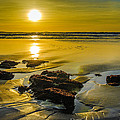 One Oregon Coast Sunset Poster by Puget  Exposure