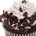 Oreo Cookie Cupcake 2 Print by Andee Photography
