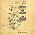 Original US Patent for Lego Poster by Edward Fielding