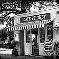Orleans Cafe Beignet Print by John Rizzuto