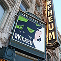 Orpheum Sign Poster by Carol Groenen