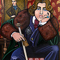 Oscar Wilde and the Picture of Dorian Gray Poster by Victoria De Almeida